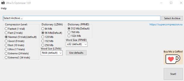 ultra7z optimizer english